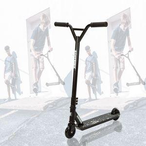 Clothink Junior Pro Stunt Scooter - Stunt Roller mit 100 mm PolyurethanRäder für ab 7 Jahren (für 120cm bis 185cm) Freestyle, Tricks, Hochleistung Tretroller