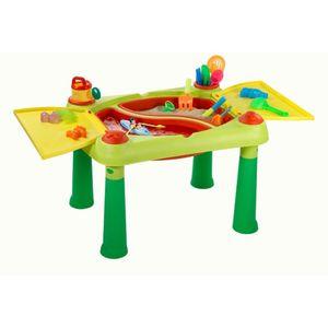 Keter Spieltisch Sand & Water Rot und Gelb 1178668