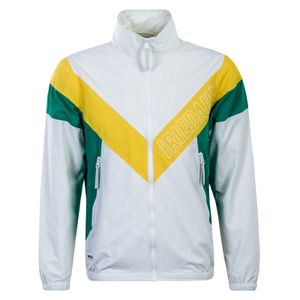 Herren Jacke Prime White Yellow Green