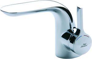 Ideal Standard Einhebel-Waschtischarmatur MELANGE mit Zugknopf-Ablaufgarnitur flexible Anschlussschläuche chrom