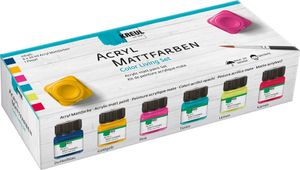 KREUL Acryl-Mattfarbe Color Living-Set 6 Stück