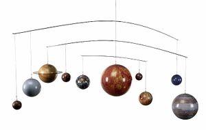 An der Decke schwebend Mobile Sonnensystem mit 10 Planeten Maßstabsgetreu