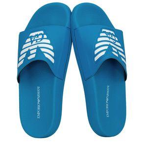 Emporio Armani Badelatschen Strandschuhe Gr.:40 Farbe:Blau