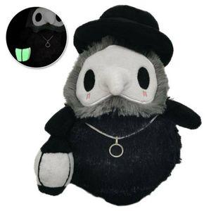 Pest Doktor Plüsch Figur Spielzeug Schnabel Puppe Halloween Geschenk für Kinder