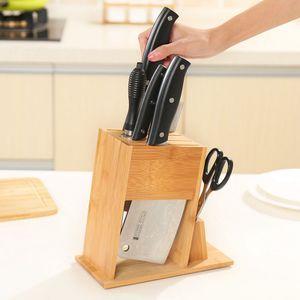 Abnehmbarer Messerblockhalter Organizer Aufbewahrung Küchenwerkzeugablage Ständer