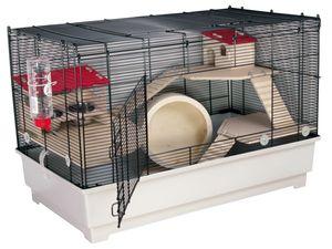 """Mäuse- und Hamsterkäfig BORNEO """"M"""" DELUXE"""