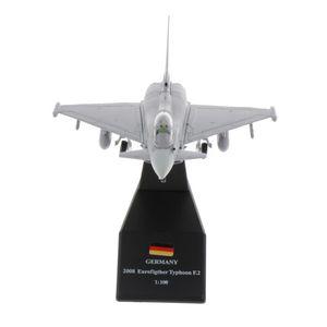 1/100 skala EF2000 Eurofighter Typhoon Kämpfer Flugzeug Metall Kämpfer Militärische Modell Diecast Flugzeug Modell für Sammlung Geschenk
