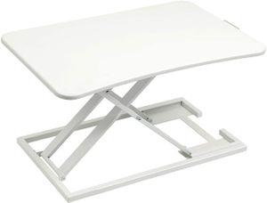 Ergonomischer Höhenverstellbarer Schreibtisch, Sitz-Steh-Schreibtisch Computer Monitor & Laptop Standtisch Sit-Stand Workstation Für Bürotisch & Computertisch, Stehtisch Schreibtisch