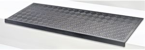 5 Stück Stufenmatte TRAPA schwarz Treppenmatte rutschfest 5er-Set Matte