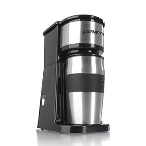 coffeemaxx Single Kaffeemaschine Edelstahl inkl Thermobecher