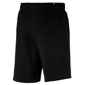 Puma kurze Jogginghose Herren mit Taschen, Größe:L, Farbe:Schwarz