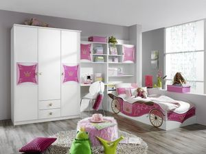 RAUCH A9830_OB75 Jugendzimmer Kate 3-tlg. Set in Weiss