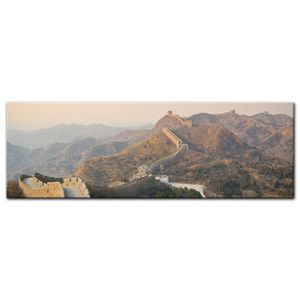 Leinwandbild - Chinesische Mauer, Größe:160 x 50 cm