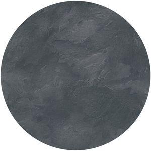 Tischplatte Dark Slate rund 70cm