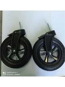 2 Stück Vorderrader Drehrader Kinderwagenrad Kinderwagen RäderDie Räder passen auf Kinderwagen Largo Raf-Pol