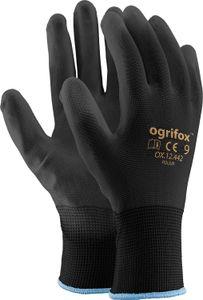 12 Paar Arbeitshandschuhe Mechaniker Garten Handschuhe PolyurethanSchutzhandschuhe Gr.10