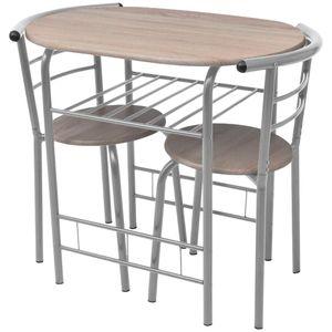 Barset Bistroset Frühstückstisch Küchentisch Bartisch Barhocker Stühle