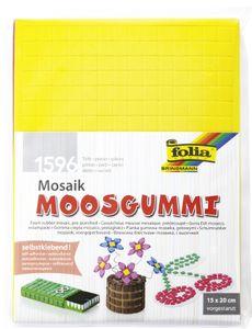 """folia Moosgummi-Mosaik """"Basic"""" selbstklebend 1.596 Teile"""