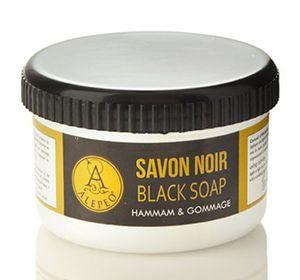 Savon Noir Schwarze Seife Paste Alepeo  Hammam & Gommage Natur Vegan 250g