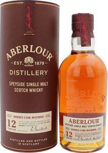 Aberlour 12 Jahre Double Cask Speyside Single Malt Scotch Whisky 0,7l, alc. 40 Vol.-%