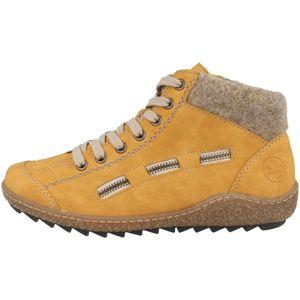 rieker Damen Winterstiefel Gelb Schuhe, Größe:38