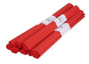 VBS Krepppapier, 50 x 200 cm, 10 Rollen Rot