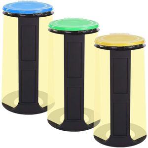 Gies Müllsackständer EcoLine sortiert für Müllsäcke bis ca 120 Liter
