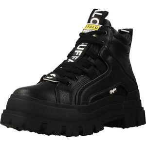 Buffalo Aspha Nc - Lace Up Sneaker - Schwarz Kunstleder Größe: 39 Normal