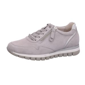 Gabor Comfort Sneaker  Größe 7.5, Farbe: light grey/silb