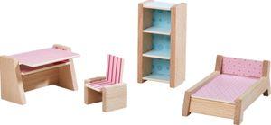 Haba Little Friends Puppenhaus-Möbel Jugendzimmer