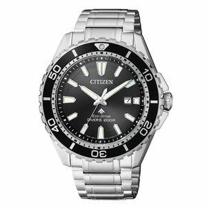Citizen BN0190-82E Eco-Drive Promaster Sea Edelstahl Uhr Datum Silber