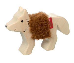 sigikid Cudly Wudly Holztier Fuchs, Holzfigur, Spielfigur, Holzspielzeug, Spielzeug, Dekoration, 39514