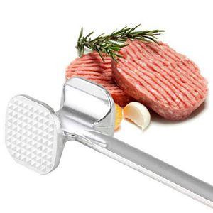 19,5 cm zwei Seiten Aluminium Fleisch Hammer Hammer Mallet Beef Chicken Steak Beefs Schweinefleisch YYJ70412012