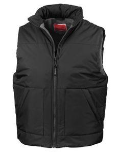 Fleeced Lined Bodywarmer - Farbe: Black - Größe: L