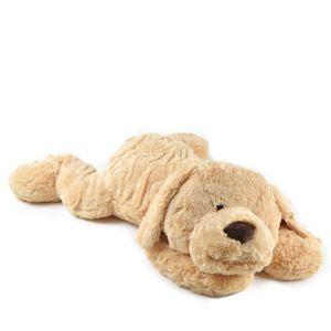"""Pink Papaya Hund """"Lucy"""" 100cm Plüschtier XXL Kuscheltier in beige"""