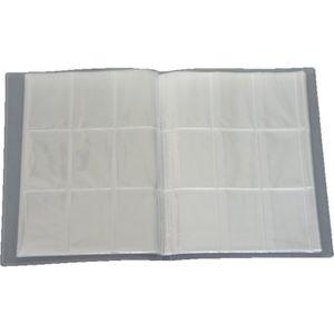 Leere Sammelmappe - 18 Seiten (324 Karten) - Ideal für Sammel Bilder/Karten - Farbe Neutral