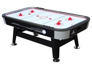 Cougar Super Scoop Airhockeytisch 7ft   Airhockey Tisch inkl. Zubehör (Pucks & Pushers)   Airhockeytisch mit Luft für Kinder und Erwachsene für Zuhause