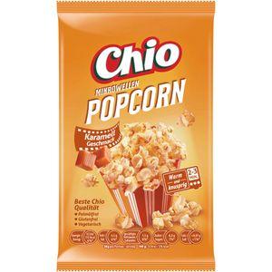Chio Mikrowellen Popcorn Karamell glutenfrei vegan vegetarisch 100g