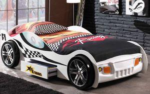 Vipack Autobett Turbo Racing Weiß