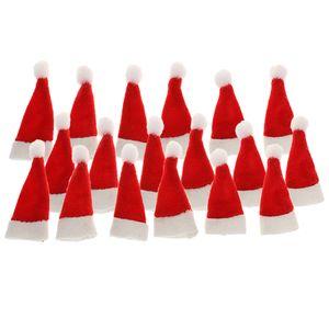 3x 6pcs Mini Nikolausmütze Eiermützen Weihnachtsmütze Mütze Nikolausmütze Weihnachtsmannmütze