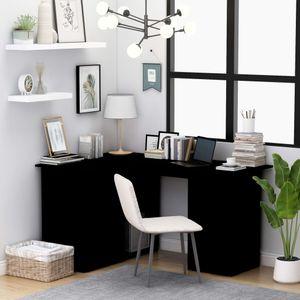 Eckschreibtisch Bürotisch Vintage   PC Tisch   Arbeitstisch Gaming Tisch   für Arbeitszimmer Büro Vintage Schwarz 145×100×76 cm Spanplatte - direkt vom Hersteller HOM397024