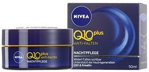 Nivea Visage Q10 Plus Anti-Falten Nachtpflege, Gesichtspflege 50ml
