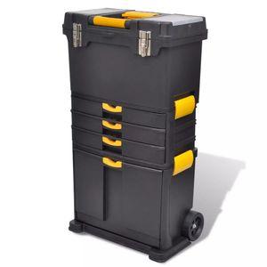 vidaXL Werkzeugtrolley mit Rädern