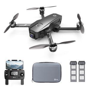 Holy Stone HS720E(HS105) GPS FPV Drohne mit UHD 4K EIS Kamera, 2 Akkus