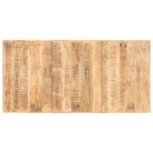 vidaXL Tischplatte Massivholz Mango 16 mm 200 x 100 cm
