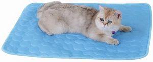 Sommer Pad Zwinger Pad Pet Cooling Pad Breathable Kühlmatte Schlafmatte für Hunde Katzen L