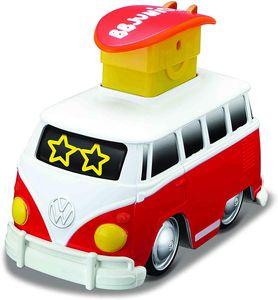 Volkswagen Bulli Samba 'Press & Go' (rot) Kinderauto Spielzeugauto Kleinkinder
