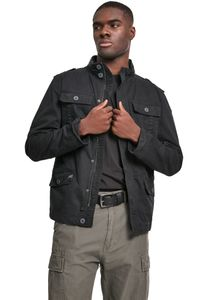 Brandit - Britannia Jacket schwarz Jacke Herren Feldjacke Used Look Größe XXL