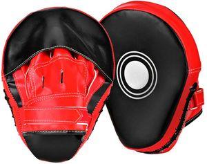 Pratzen Handpratzen vorgekrümmt Trainerpratzen Kamfsport 1 Paar Boxen Kickboxen Boxen für Muay Thai Karate Taekwondo Martial Arts usw.