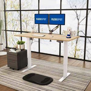 Flexispot  Elektrisch Höhenverstellbarer Schreibtisch mit Tischplatte 2-Fach-Teleskop, mit Memory-Steuerung